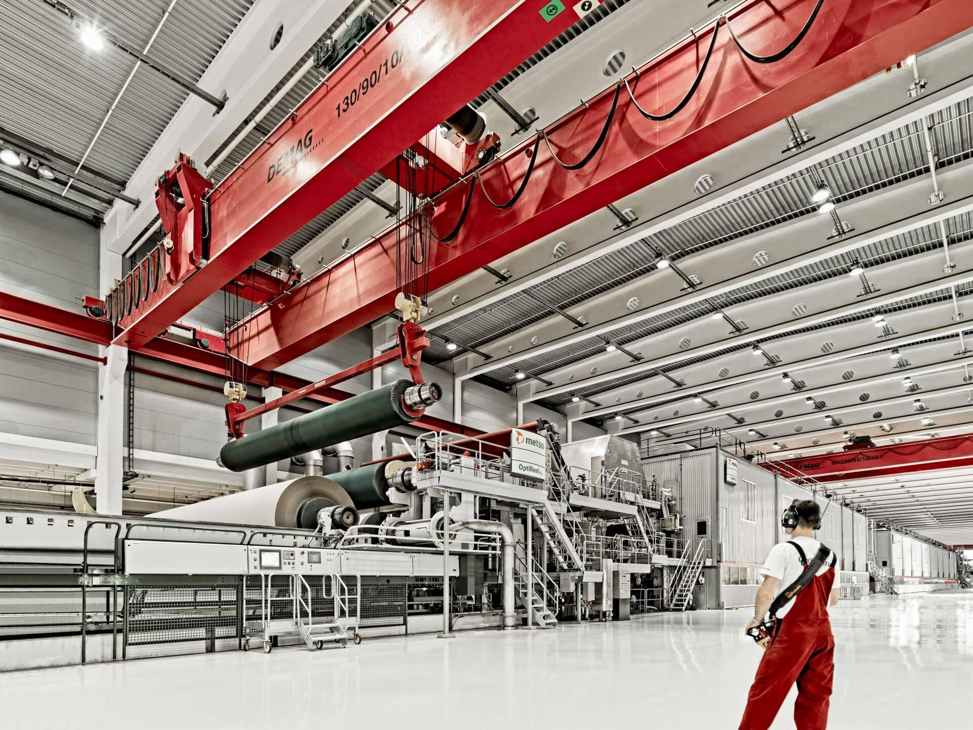 Industriefotografie in der Produktion