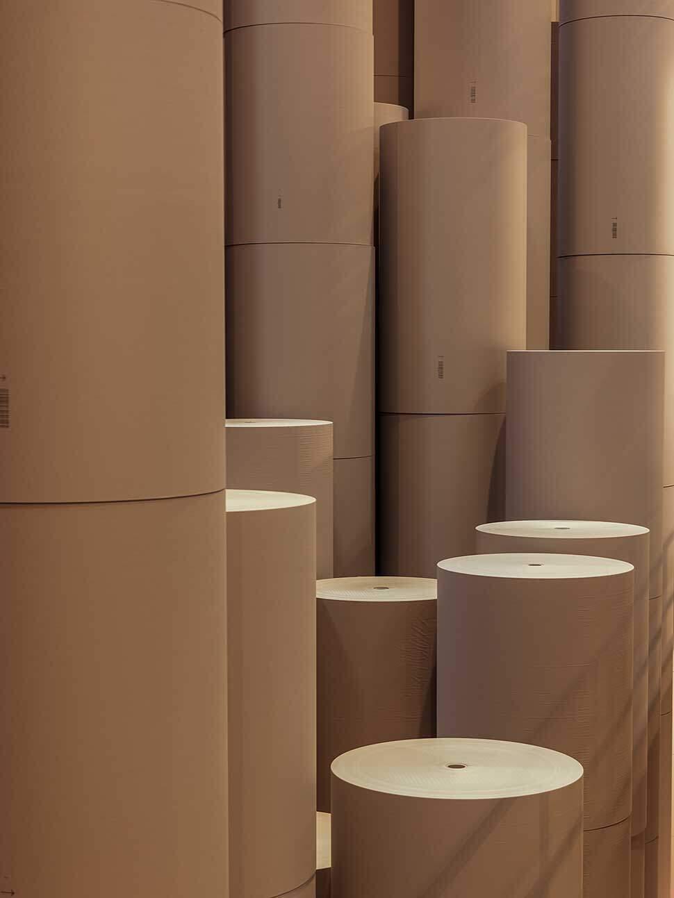 papierlager-tambour